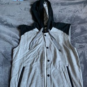 Adidas Neo Grey Vest Worn Once - Men's SMALL